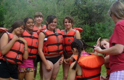 School Rafting Trips Klamath River.