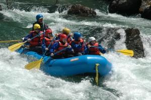 Rafting the Trinity River