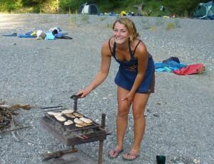 Klamath River camping
