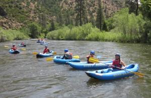 kayaking the Klamath River