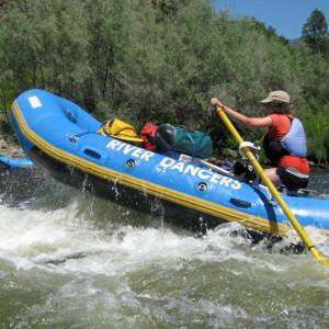 Picture of Ari in Raft