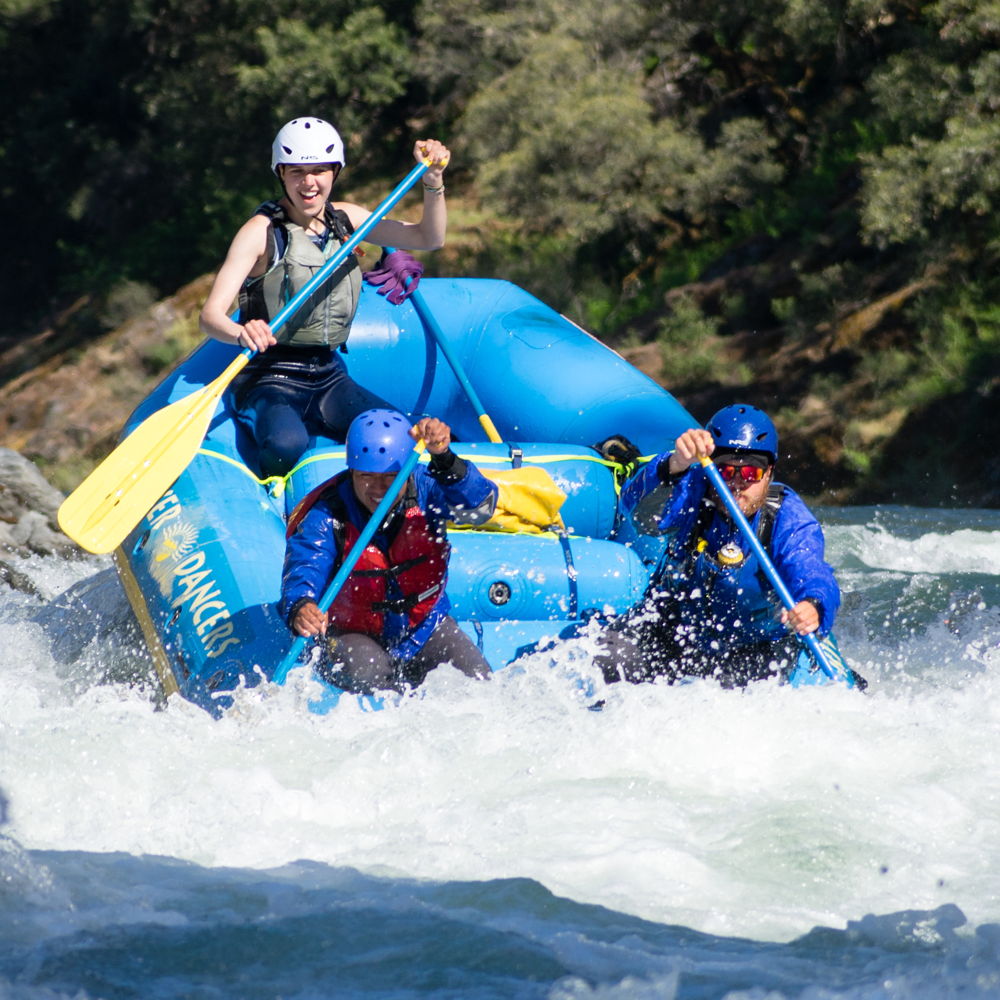 Whitewater Camp for Teenagers
