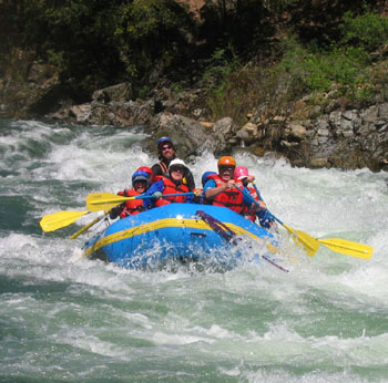 River Dancers Whitewater Rafting